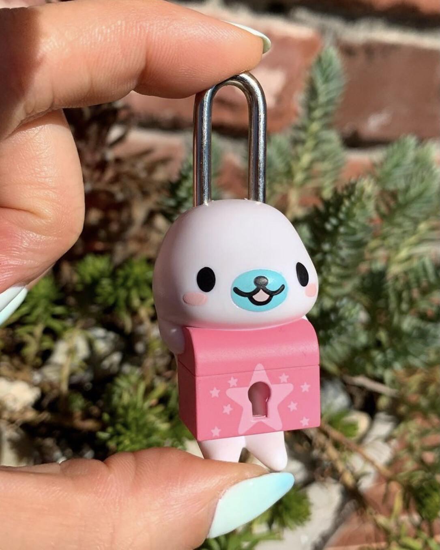 Bandai San-X Mamegoma Key & Lock Gashapon