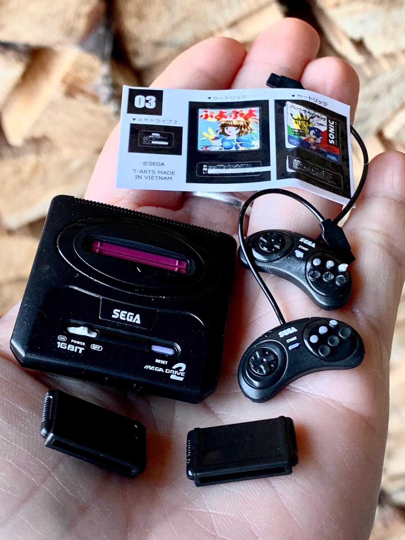 TTA Tanaka Tomy Sega History Console Miniature Set