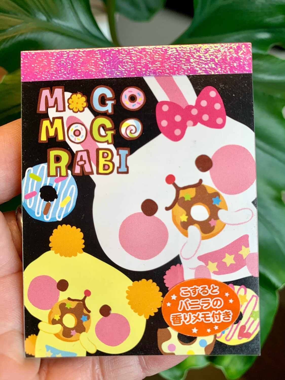 Kamio Mogo Mogo Rabit Mini Memo Pad