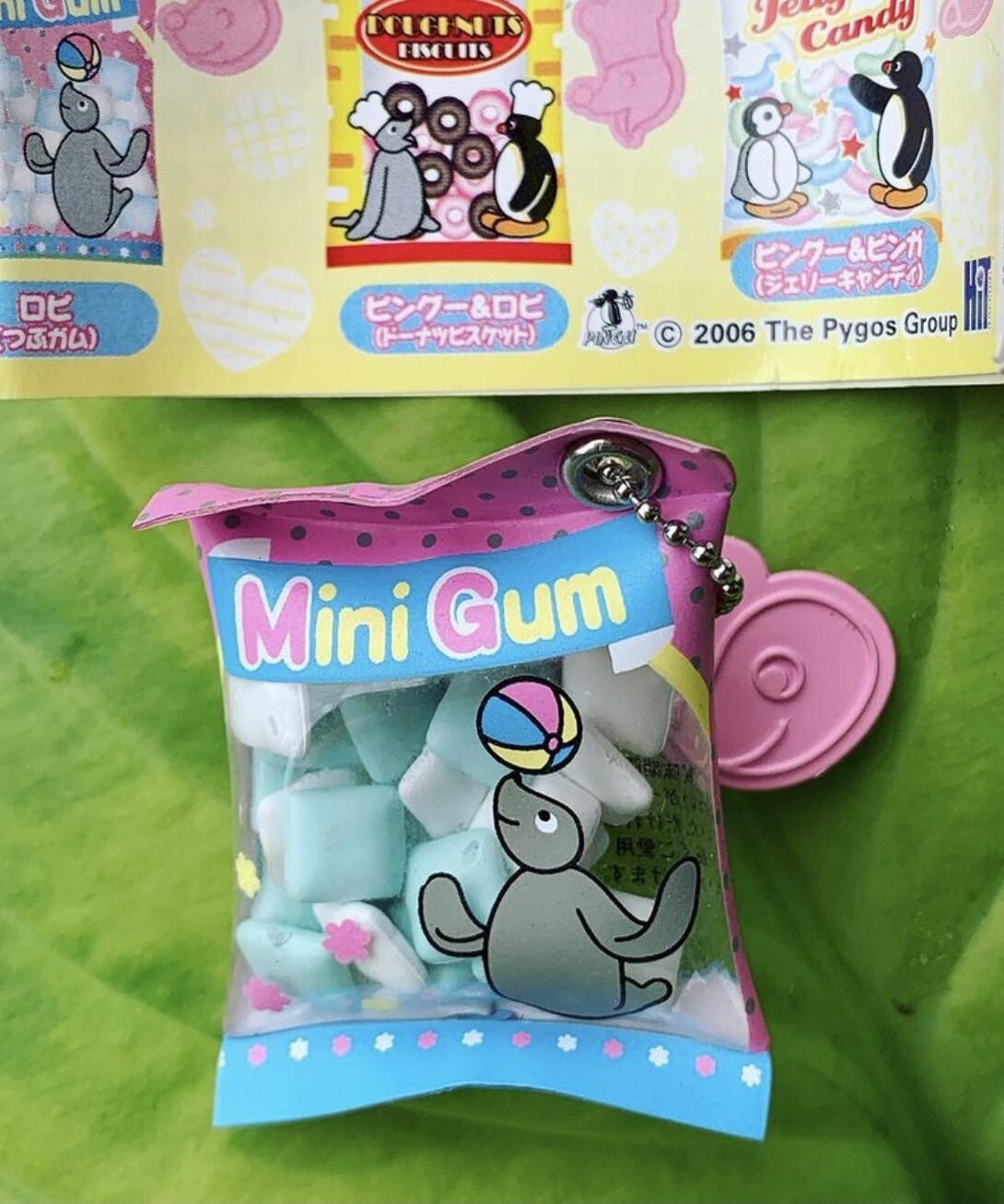 Yujin 2006 Pingu Mini Snack Shakashaka Keychain