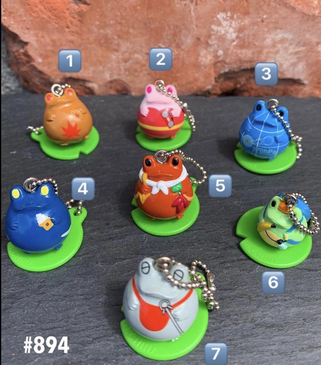 Bandai Frog Style Mascot Keychain