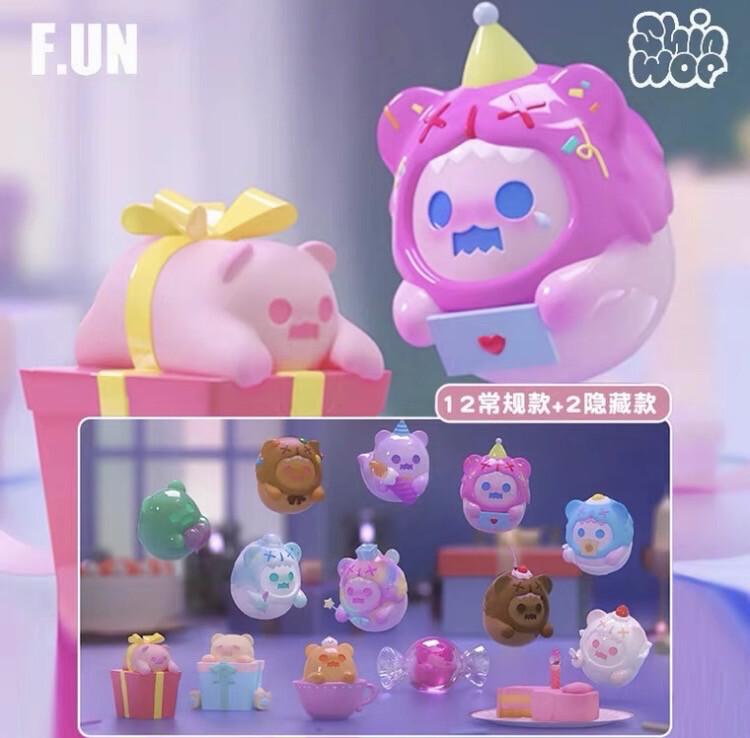 Shinwoo X F.UN Happy Birthday Ghosties Figure