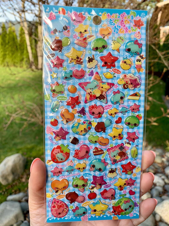Crux Jello Chan Sticker Sheet
