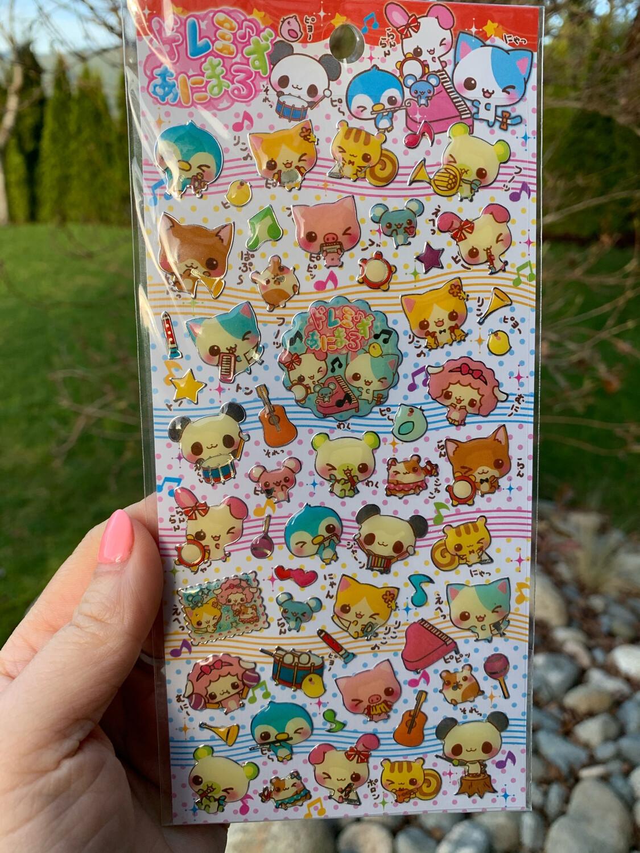 Crux Animals Orchestra Sticker Sheet