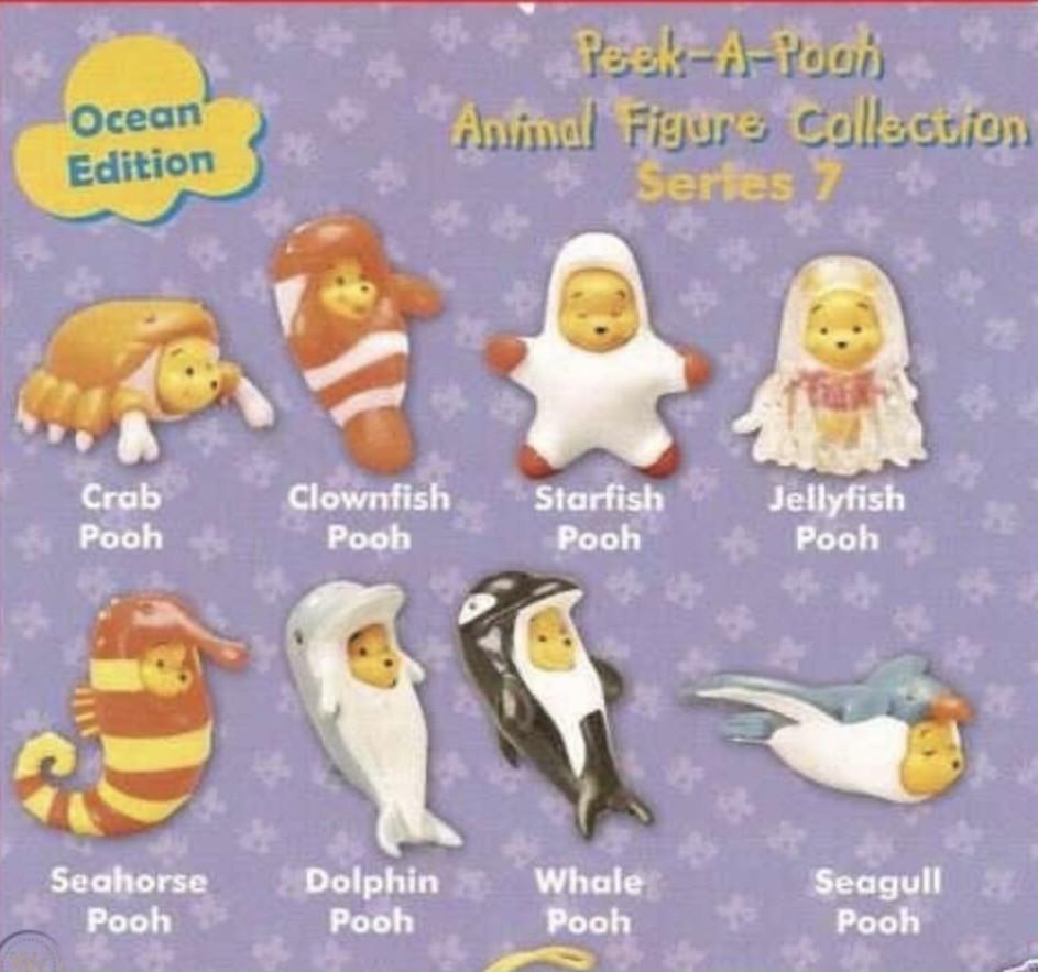 Yujin Winnie The Pooh Ocean Edition Charm Strap