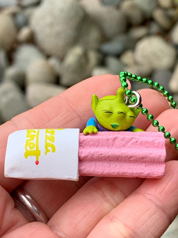 Disney Little Green Men Keychain