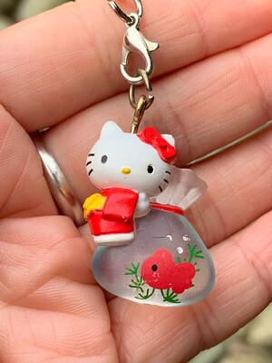 Hello Kitty Summer Festival Gold Fish Strap