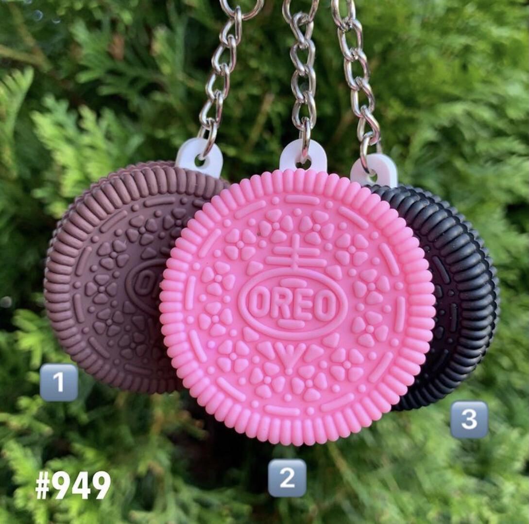 Mini Oreo Cookie Keychain