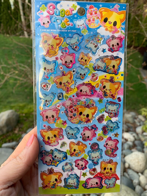 Kamio Sugar Pet Sticker Sheet