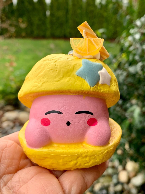 Kirby Star Cream Puffy Squishy Toy