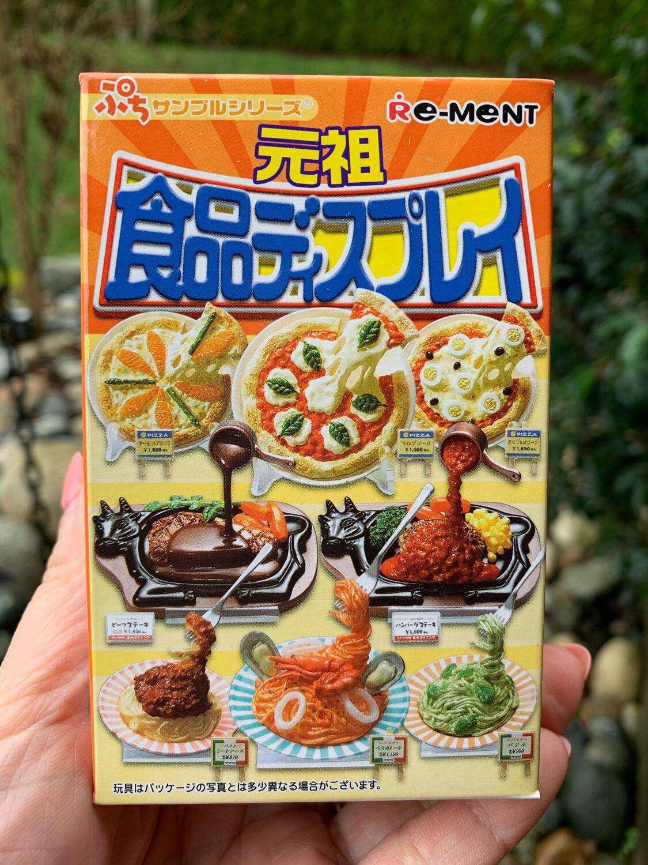 Rare Re-ment 2008 Original Food Display