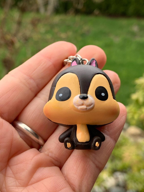 Disney Chip N Dale Charm Keychain