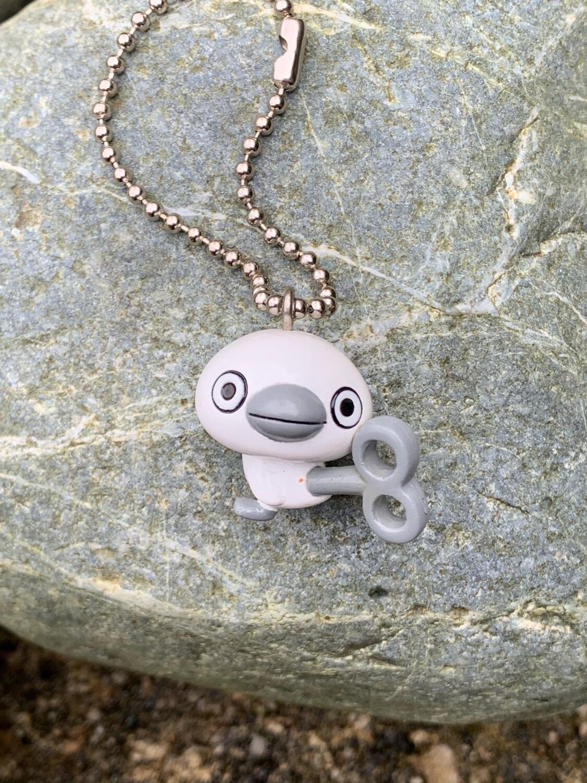 Kawaii Robot Bird Charm Mascot