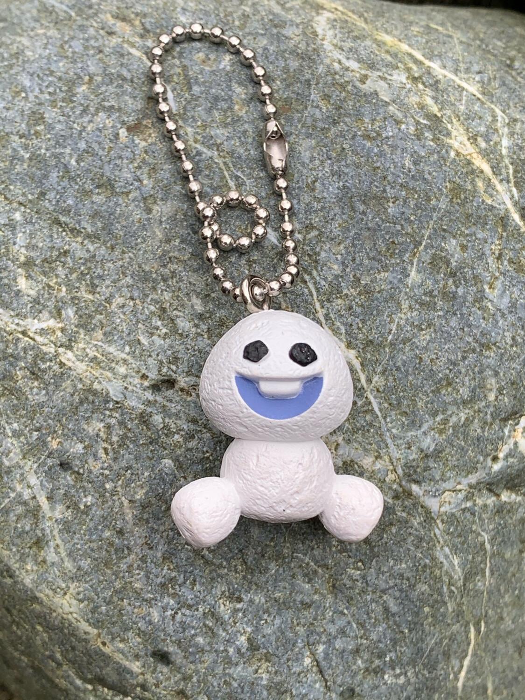Kawaii Snowman Charm Mascot Keychain