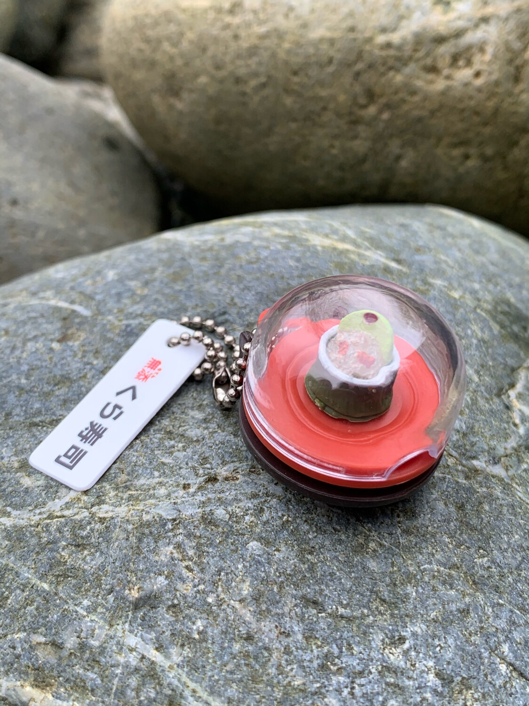 Sushi Miniature Charm Mascot Keychain