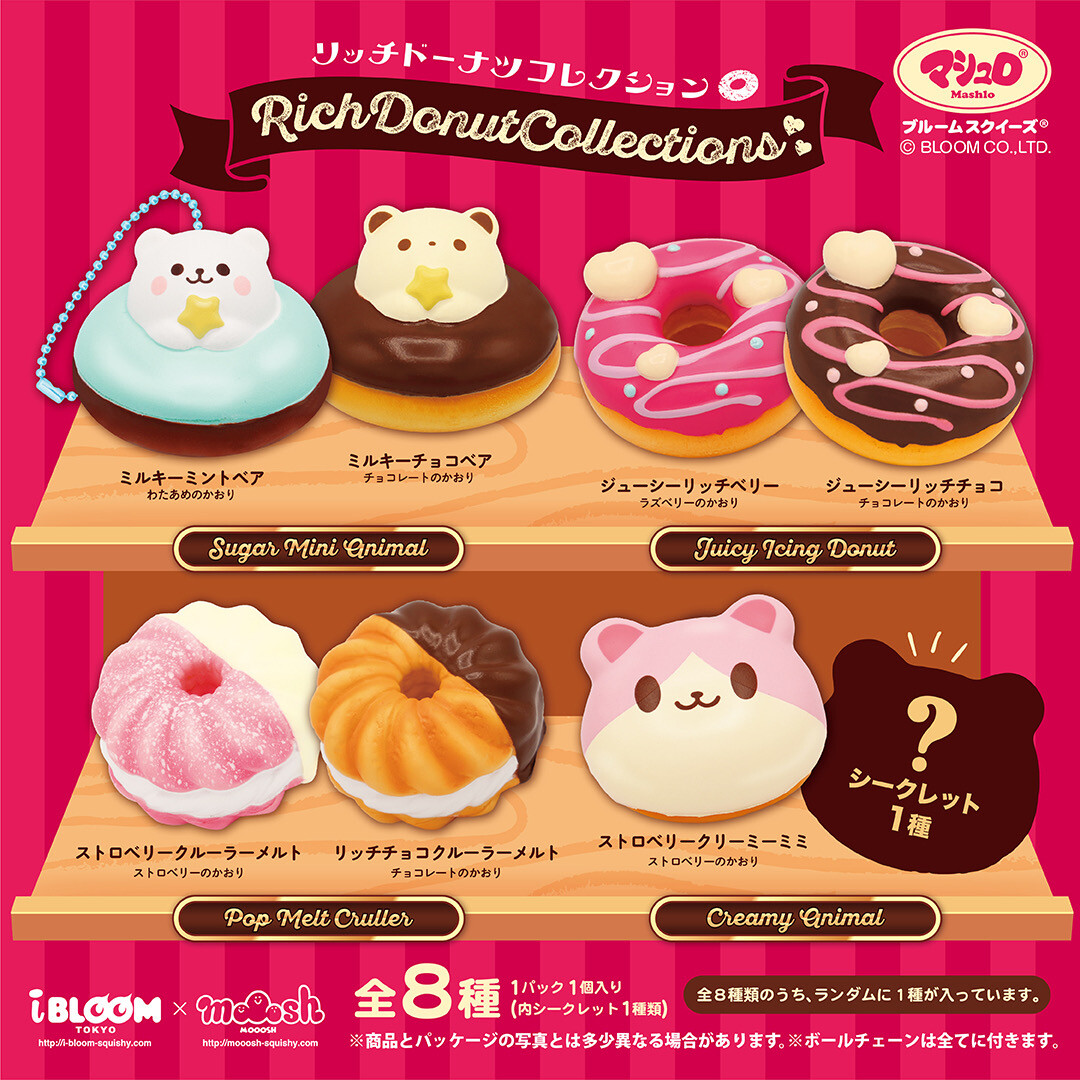 iBloom Rich Donut Collections Squishy Blind Bag