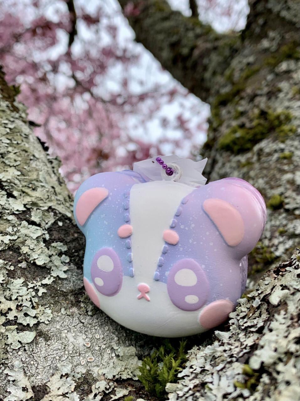 iBloom Harajuku Bear Cute Macaron Squishy Toy (Luke)