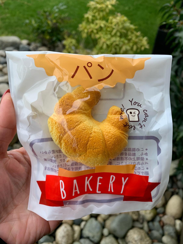 Geiiwoo Mini Croissant Squishy Toy