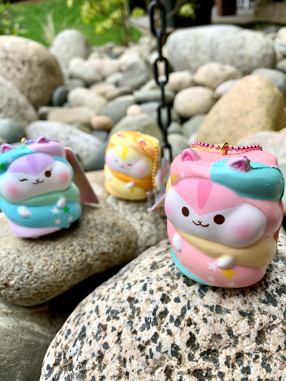 Poli Mini Marshmallow Squishy Toy