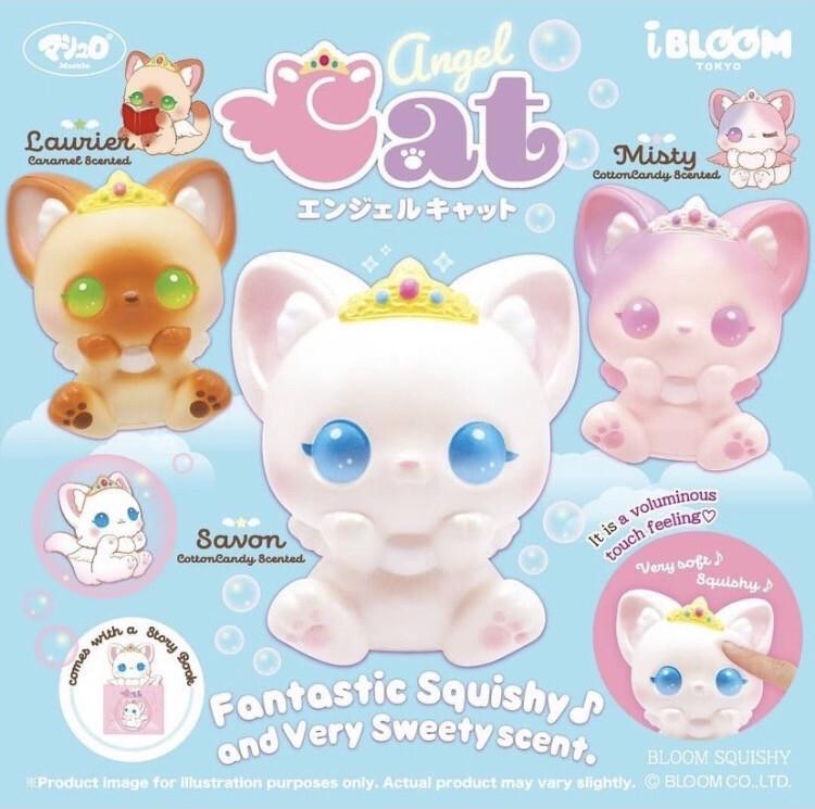 iBloom Angel Cat Squishy Toy
