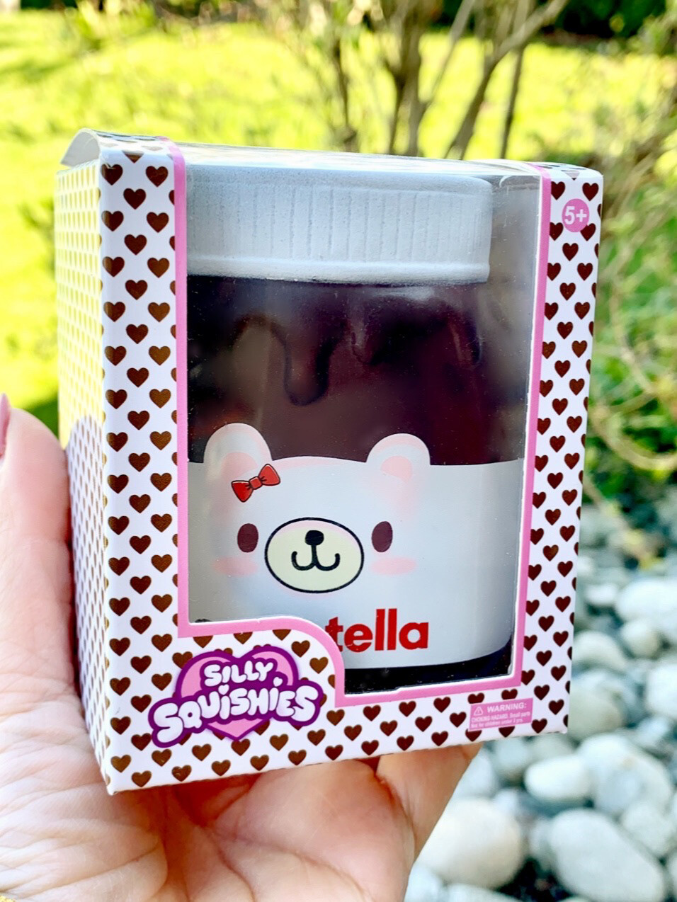 Silly Squishies Sweetella Nutella Squishy Toy