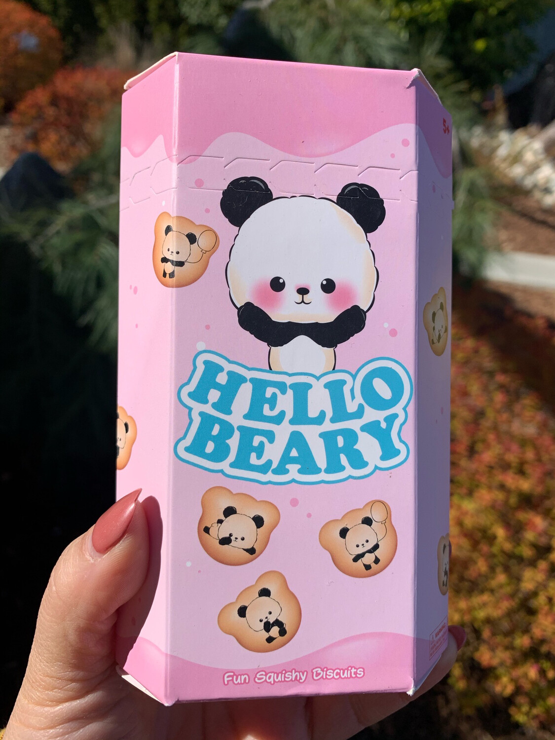 Silly Squishies Hello Beary Squishy Toy