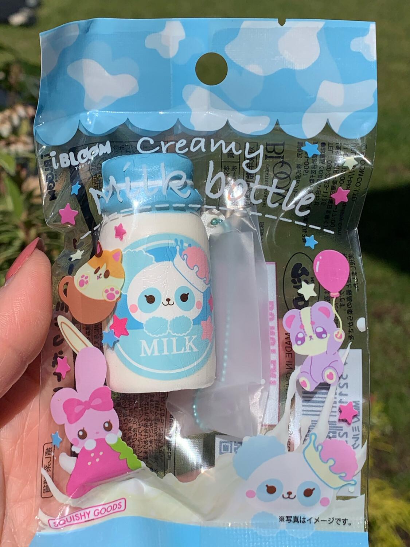 iBloom Mini Milk Bottle Squishy