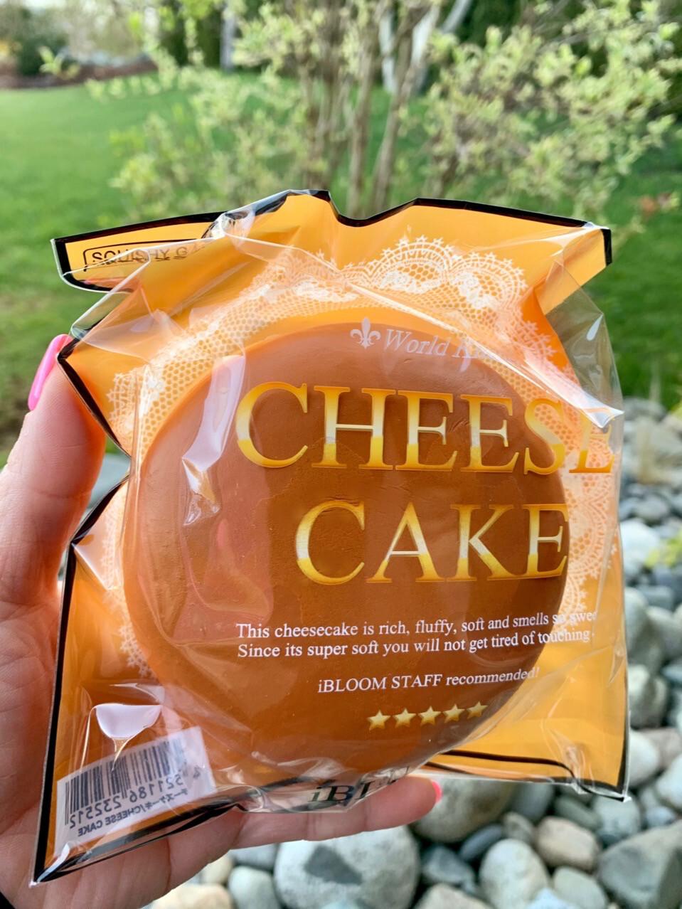 iBloom Mini Original Cheesecake Squishy (Medium)