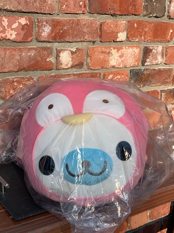 San-X Mamegoma Pink Penguin Costum Plush Jumbo