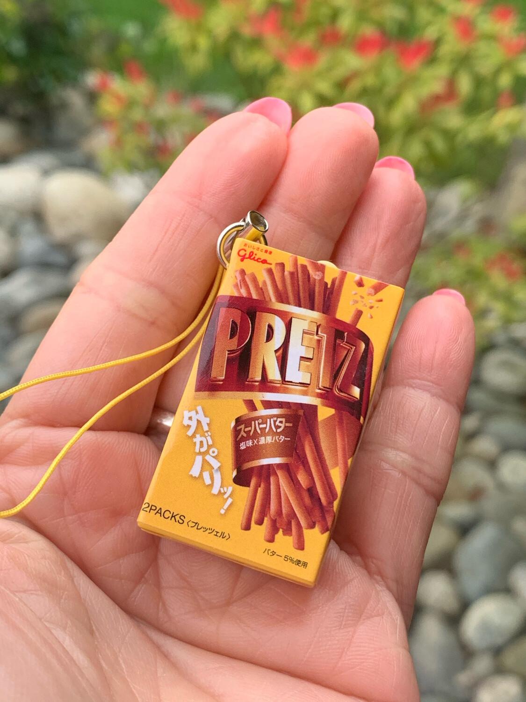 ST Gilco Pretz Fortune Telling Miniature Keychain Gashapon RARE