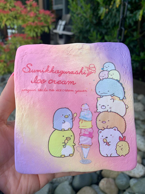 NIC San-X Sumikko Gurashi Ice-Cream Toast Squishy