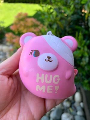 NIC Ghosty Hug Me Bear Squishy Toy