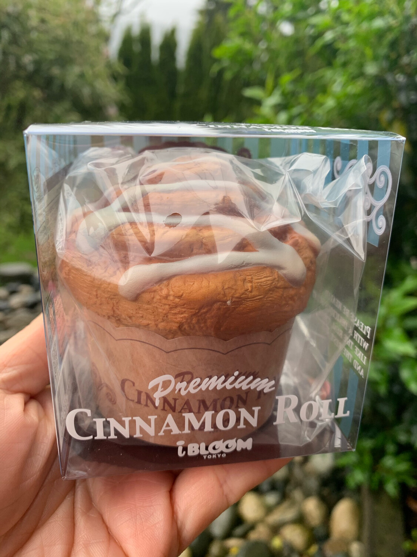 iBloom Premium Cinnamon Roll Squishy Toy