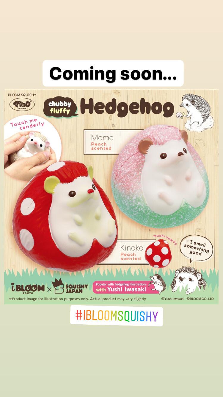 IBloom Chubby Fluffy Hedgehog Squishy