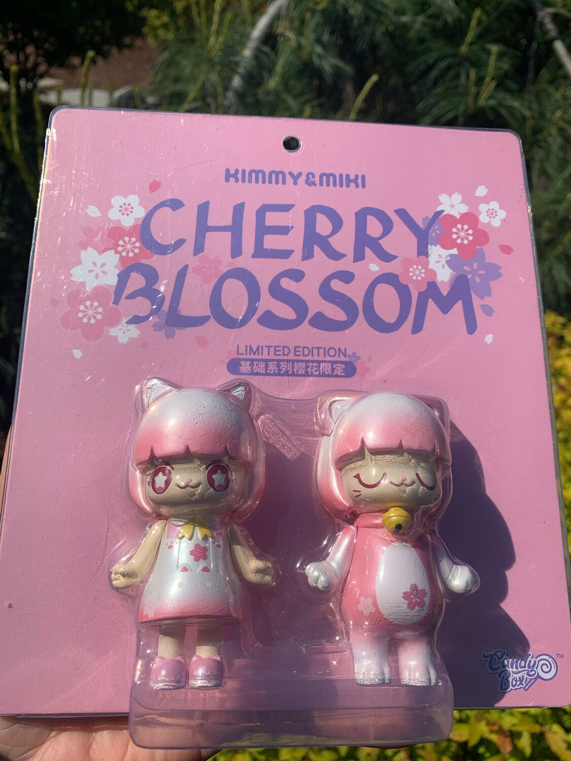 52 Toys Kimmy & Miki Cherry Blossom Limited Edition Set Of 2 RARE