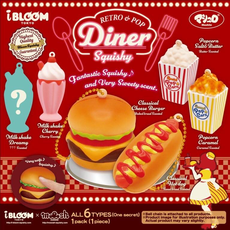 Retro & Pop Diner Squishy Toy