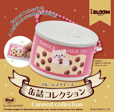 iBloom Marmo Tapioca Can Collections Squishy Limited Edition