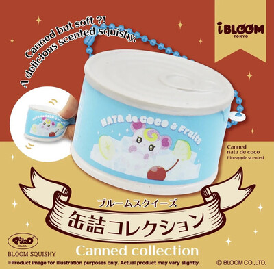 iBloom Lollipop Girl Nata De Coco Can Collections Squishy - Limited Edition