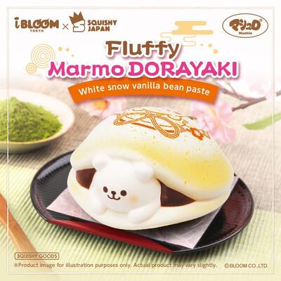 [Pre-order] IBloom White Snow Marmo Dorayaki Squishy Limited Edition