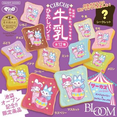 iBloom Foxy Fox Circus Mini Toast Squishy Toy