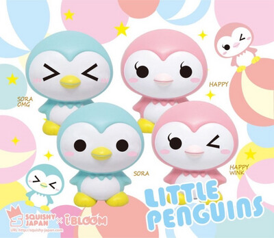iBloom Little Penguins Squishy Toy