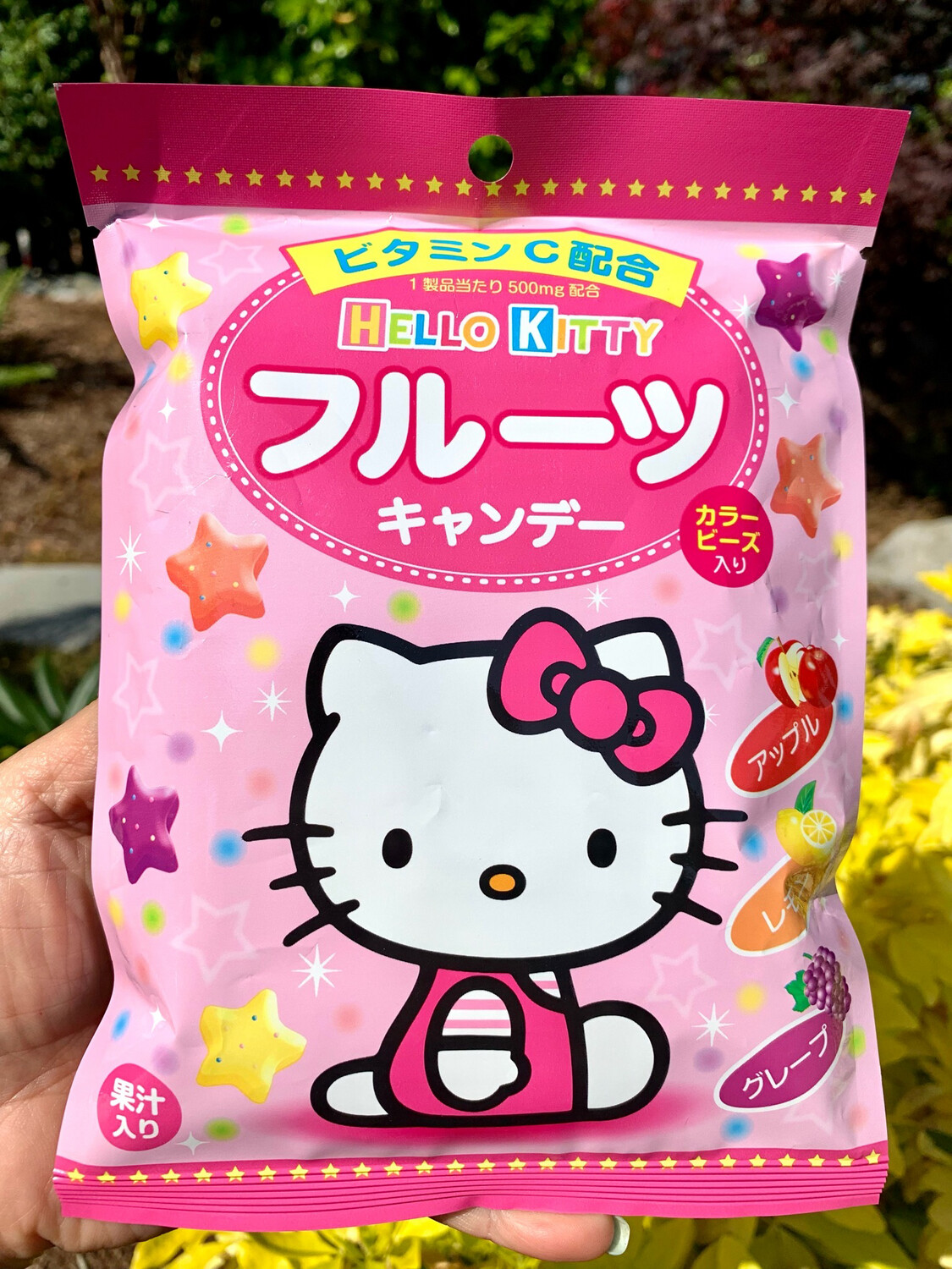 Sanrio Hello Kitty Star Shaped Fruit Candy