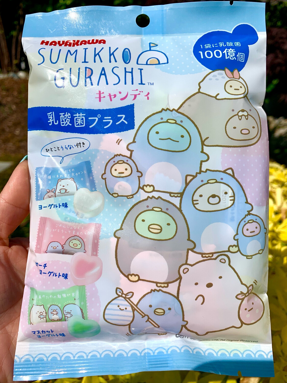 Hayakawa Sumikko Gurashi Yogurt Heart Shaped Candy