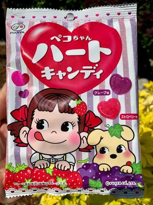 Fujiya Peko Chan Heart Shaped Candy