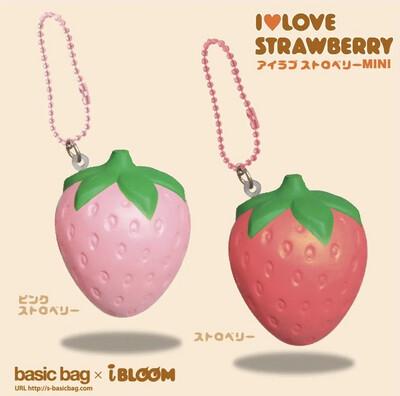iBloom I Love Strawberry Mini Squishy