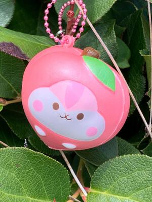 Poli Shimmery Mini Peach Squishy - Pink