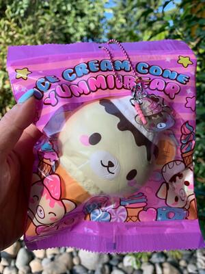 Yummiibear Ice Cream Cone Squishy - Original