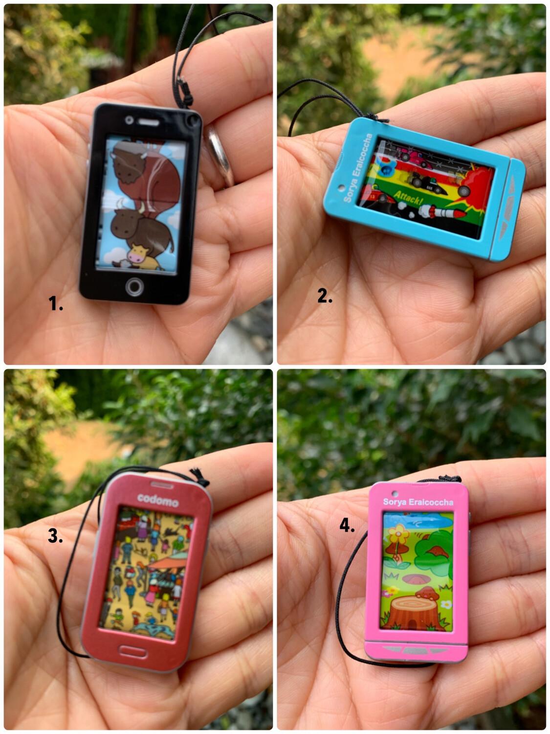 Tanaka Tomy Mini Cell Phone Strap Gashapon