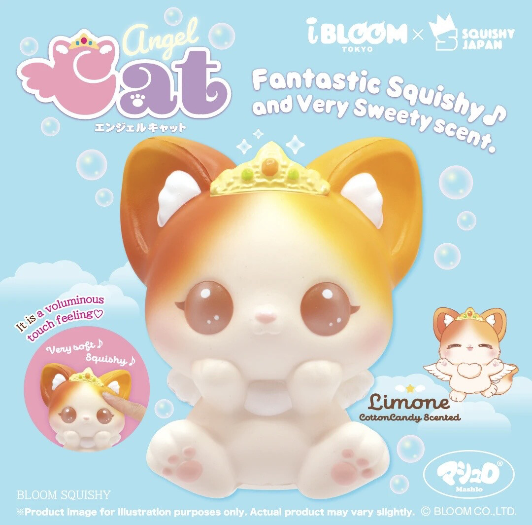 Ibloom Angel Cat Squishy Toy Limited Edition - Limone