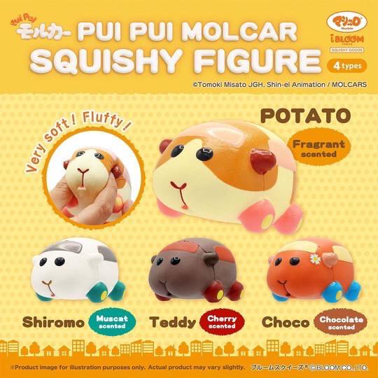 IBloom Pui Pui Molcar Squishy figure